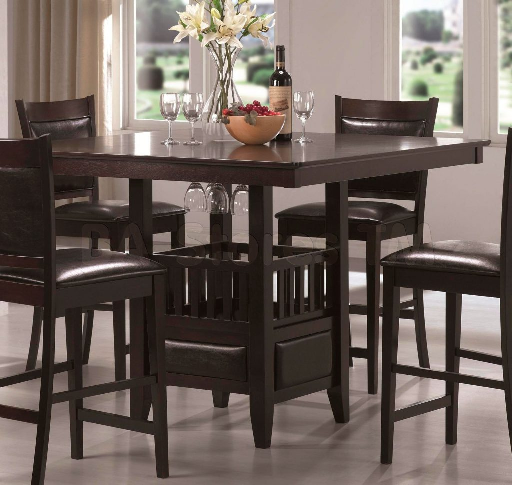 Pub Table And Chairs Counter Height Style Calgary Chair Covers From