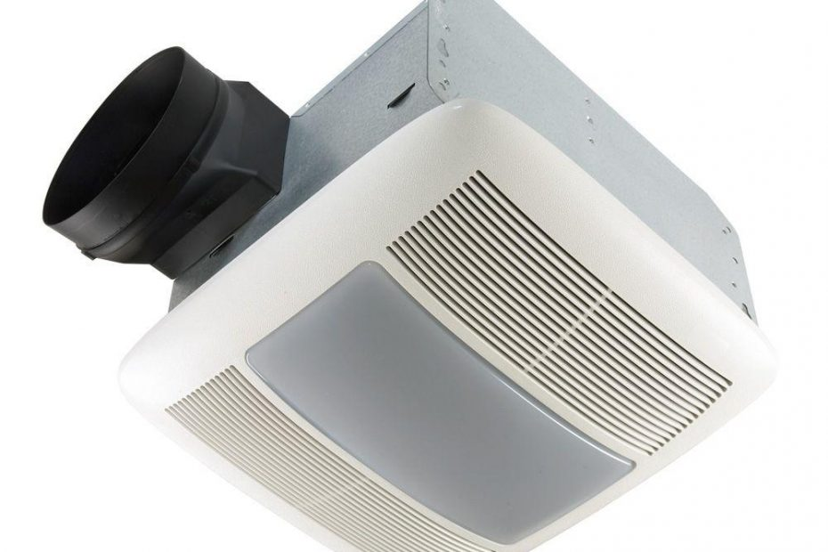 Qt Series Very Quiet 110 Cfm Ceiling Bathroom Exhaust Fan With Light