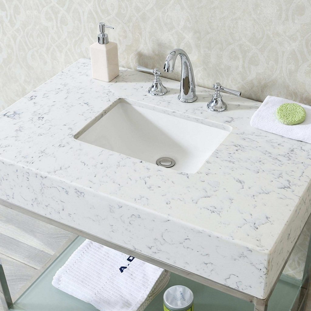 Quartz Countertops Bathroom Vanities Magnificent Best Quartz