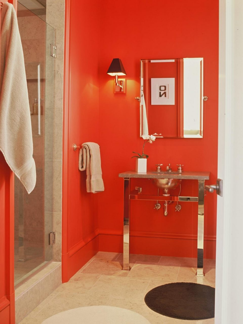 Red Bathroom Decor Pictures Ideas Tips From Hgtv Hgtv