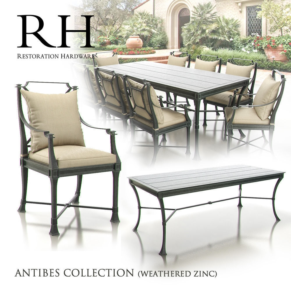Restoration Hardware Antibes Collection 3d Model Max