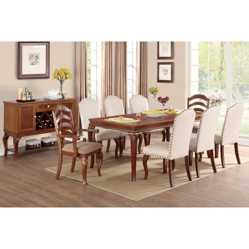 Shop Western White Cream Poplar Wood And Bicast Leather Nailhead