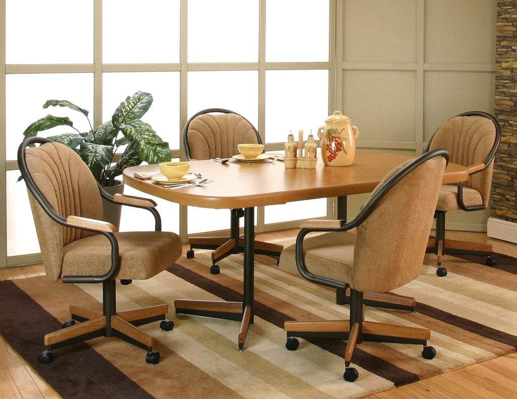 Smart Kitchen Breathtaking Dining Room Chairs Casters Hairs With