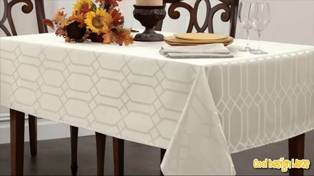 Tablecloth For Dining Room Table Youtube