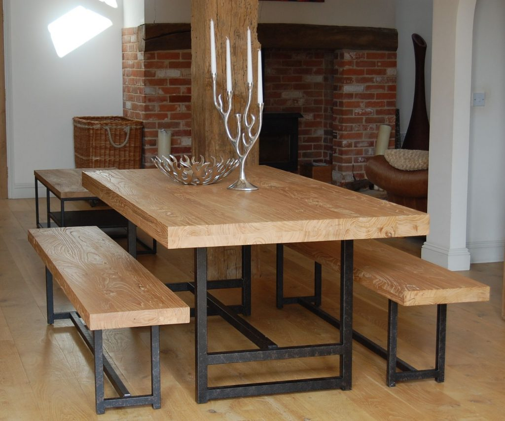 The Stylish Unique Dining Room Benches For Household
