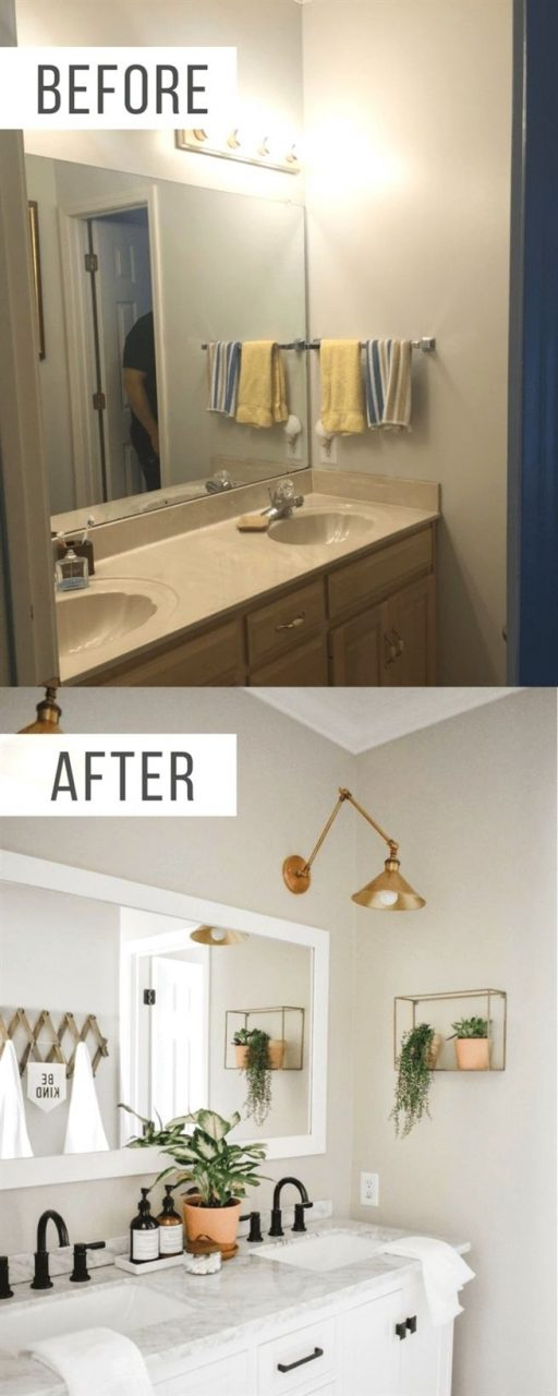 This Modern Boho Bathroom Remodel Was Definitely One For The Books