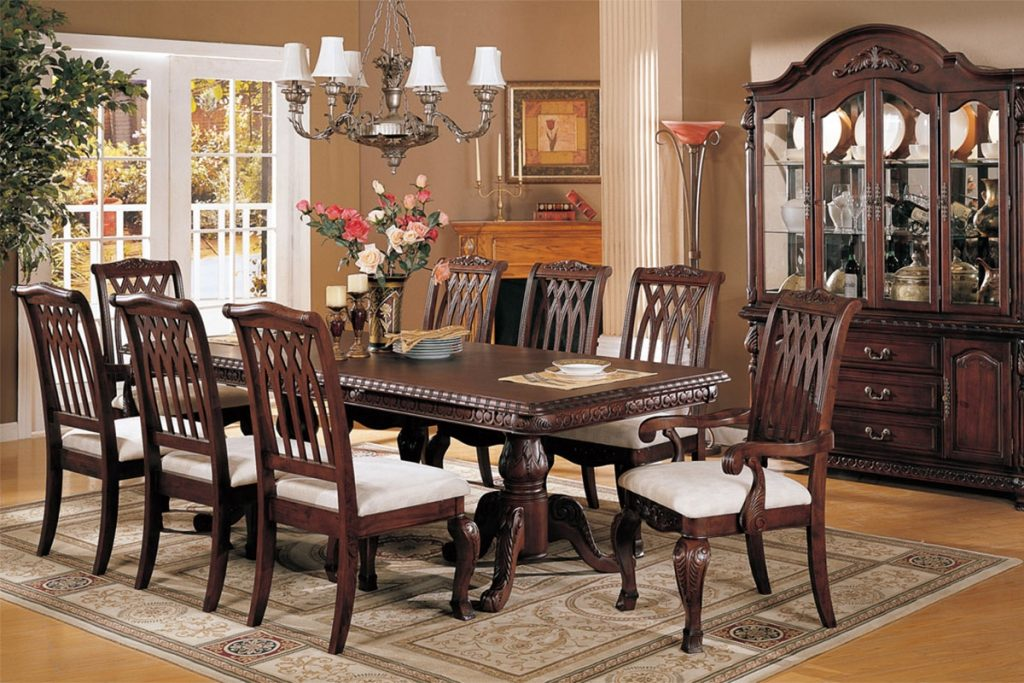 Used Dining Room Sets Custom With Picture Of Used Dining Concept In