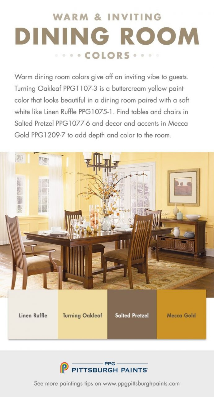 What Dining Room Colors Should I Use Home Pinterest Warm