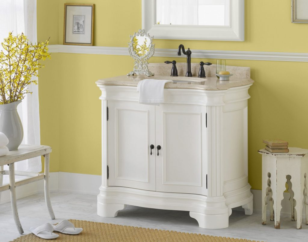 White Vanity From Vintage Collection Ronbow White Pinterest