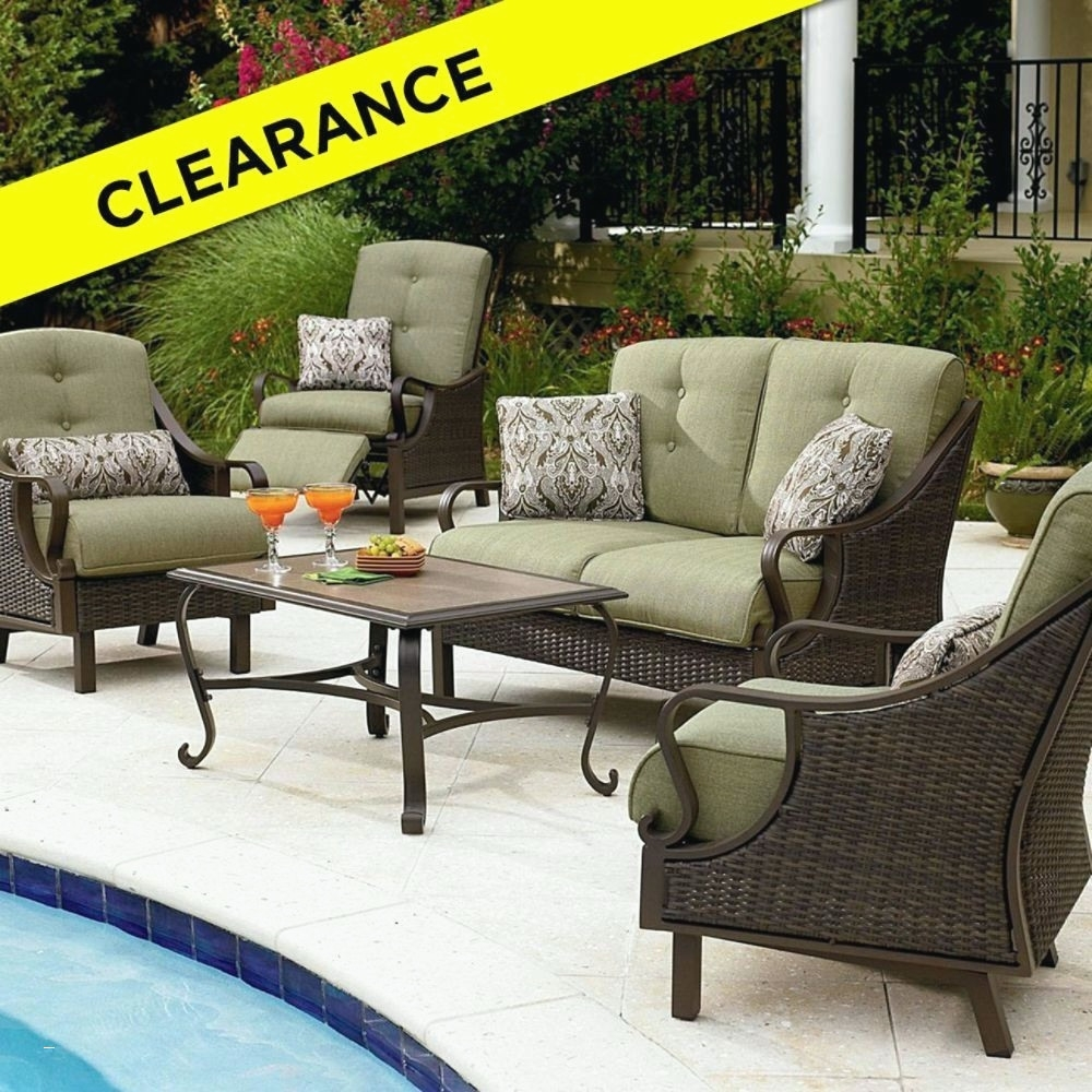 Wicker Patio Set Clearance Luxury Outdoor Furniture Cushion Sets