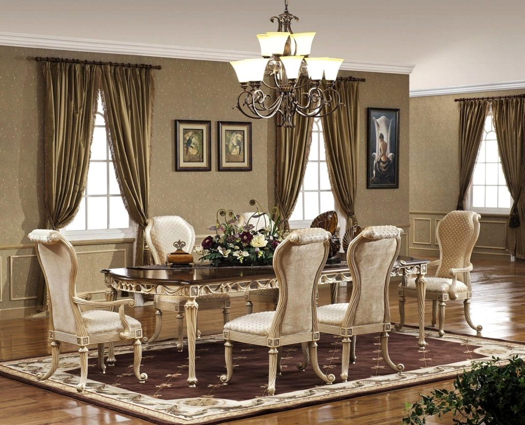 Wonderful Room Sets Luxury Chic Exclusive Dining Room Furniture