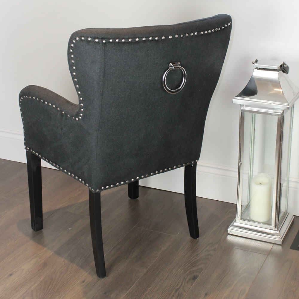 Wood Dining Room Chairs With Arms Super Comfortable Dining Room