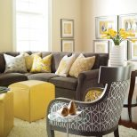 Yellow And Gray Rooms House Ideas Pinterest Living Room Home