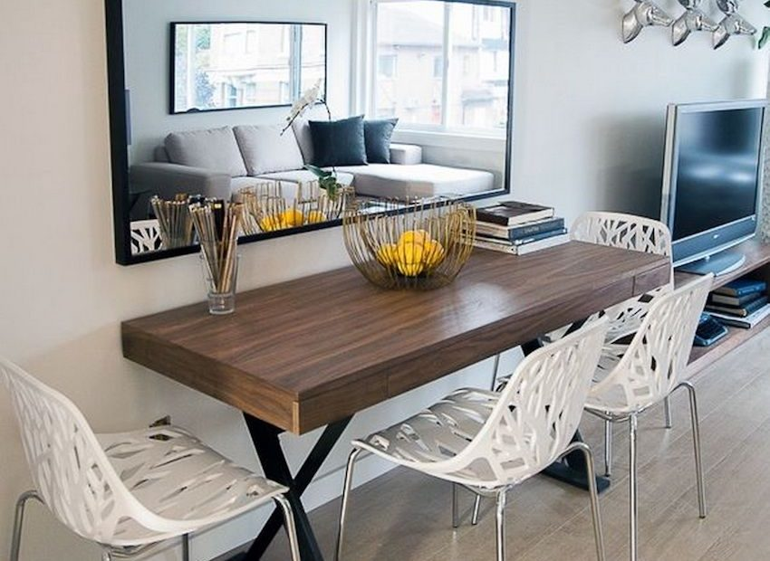 10 Narrow Dining Tables For A Small Dining Room Apartment