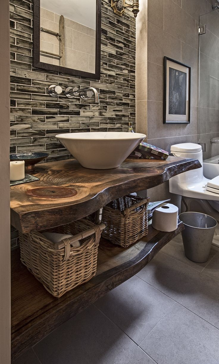 1000 Ideas About Rustic Bathroom Vanities On Pinterest Rustic