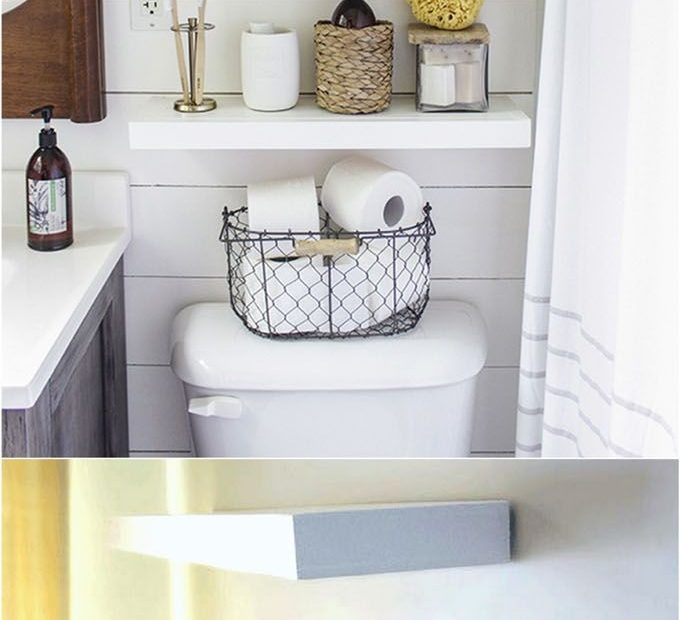 16 Easy And Stylish Diy Floating Shelves Wall Shelves Hometalk