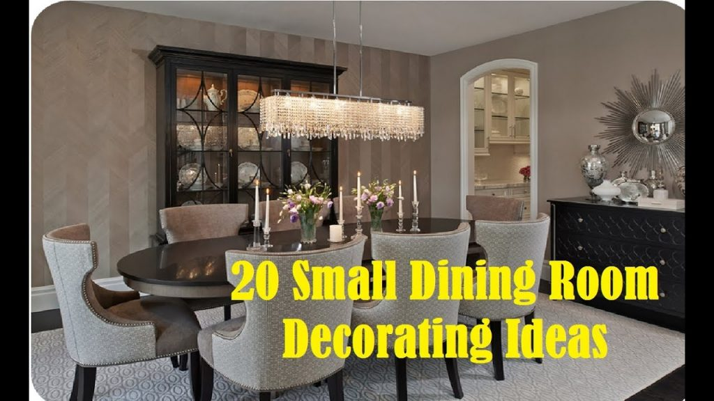 20 Small Dining Room Decorating Ideas Youtube