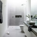 25 Gray And White Small Bathroom Ideas Homesweethome Pinterest