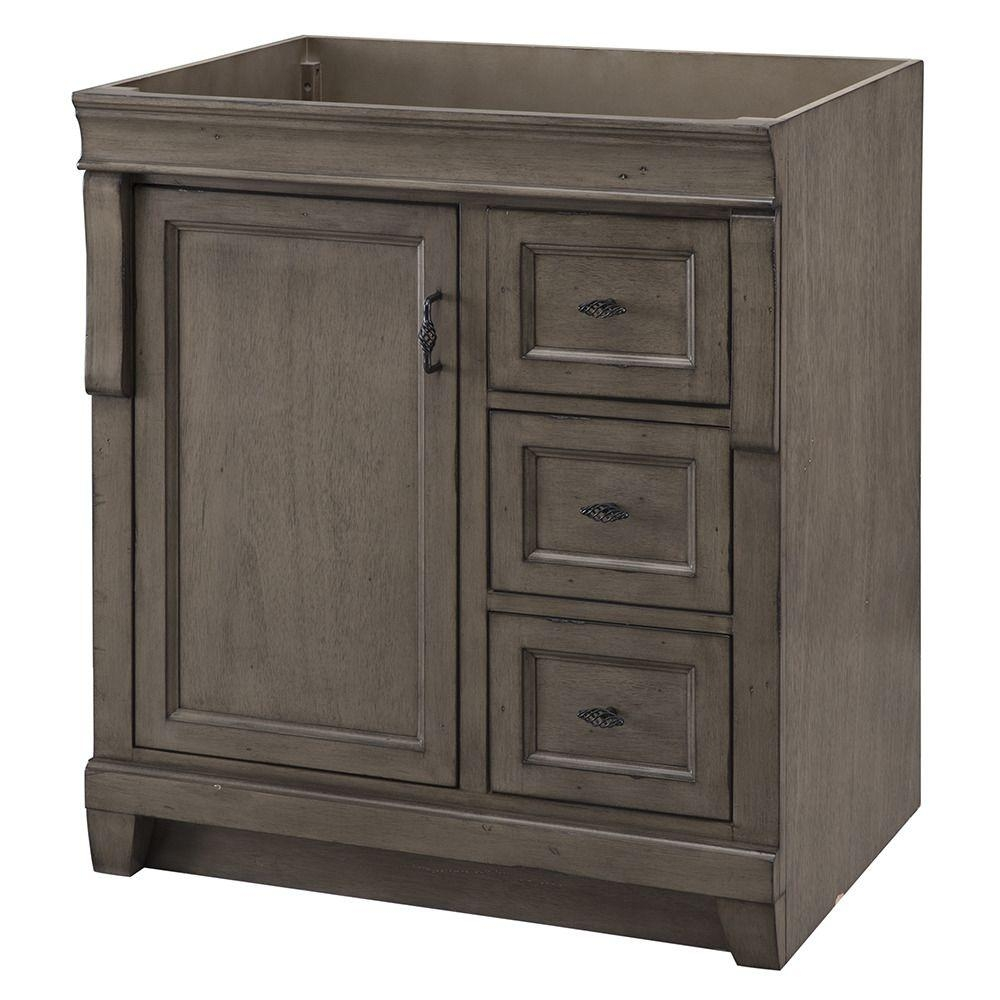 29 31 In Gray Bathroom Vanities Bath The Home Depot