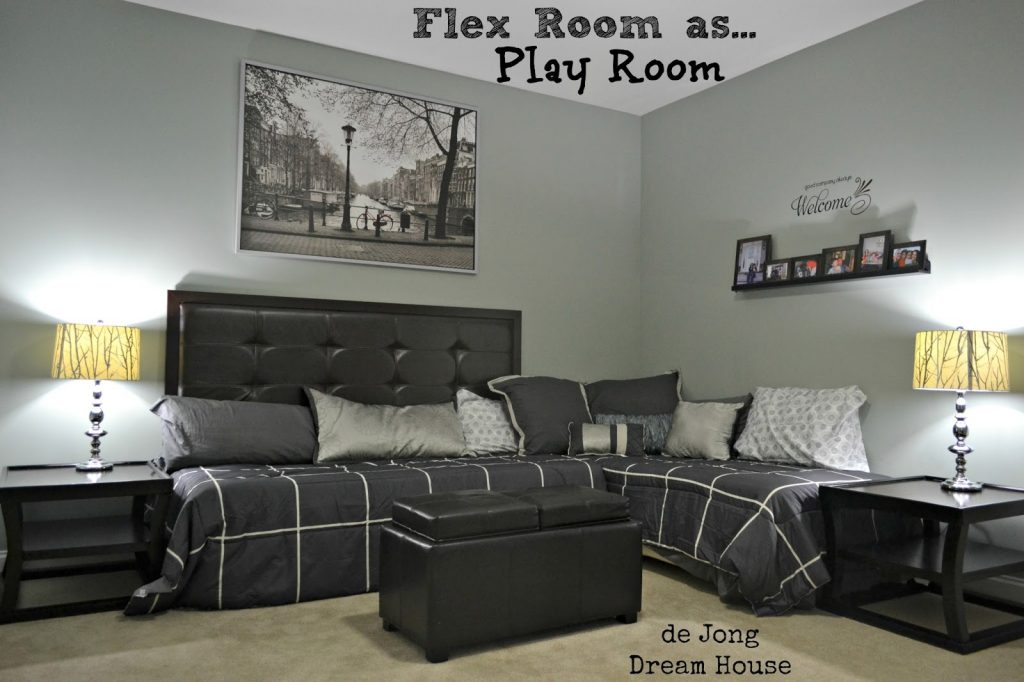3 In 1 Flex Room Guest Suite Play Room Room For Two Remodelaholic
