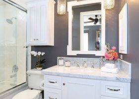 Bathroom Ideas Gray And White