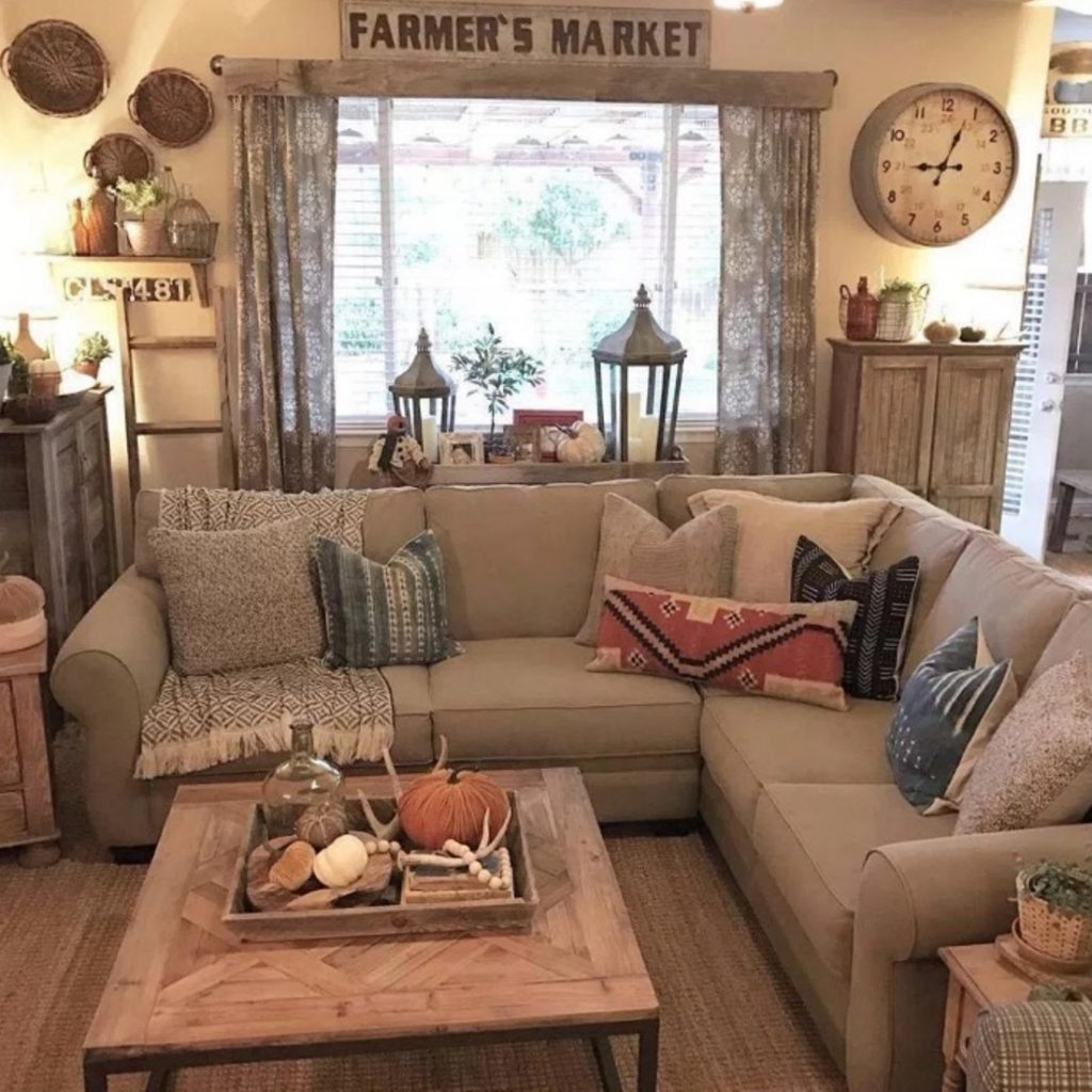 4 Simple Rustic Farmhouse Living Room Decor Ideas My Home Decor Guide