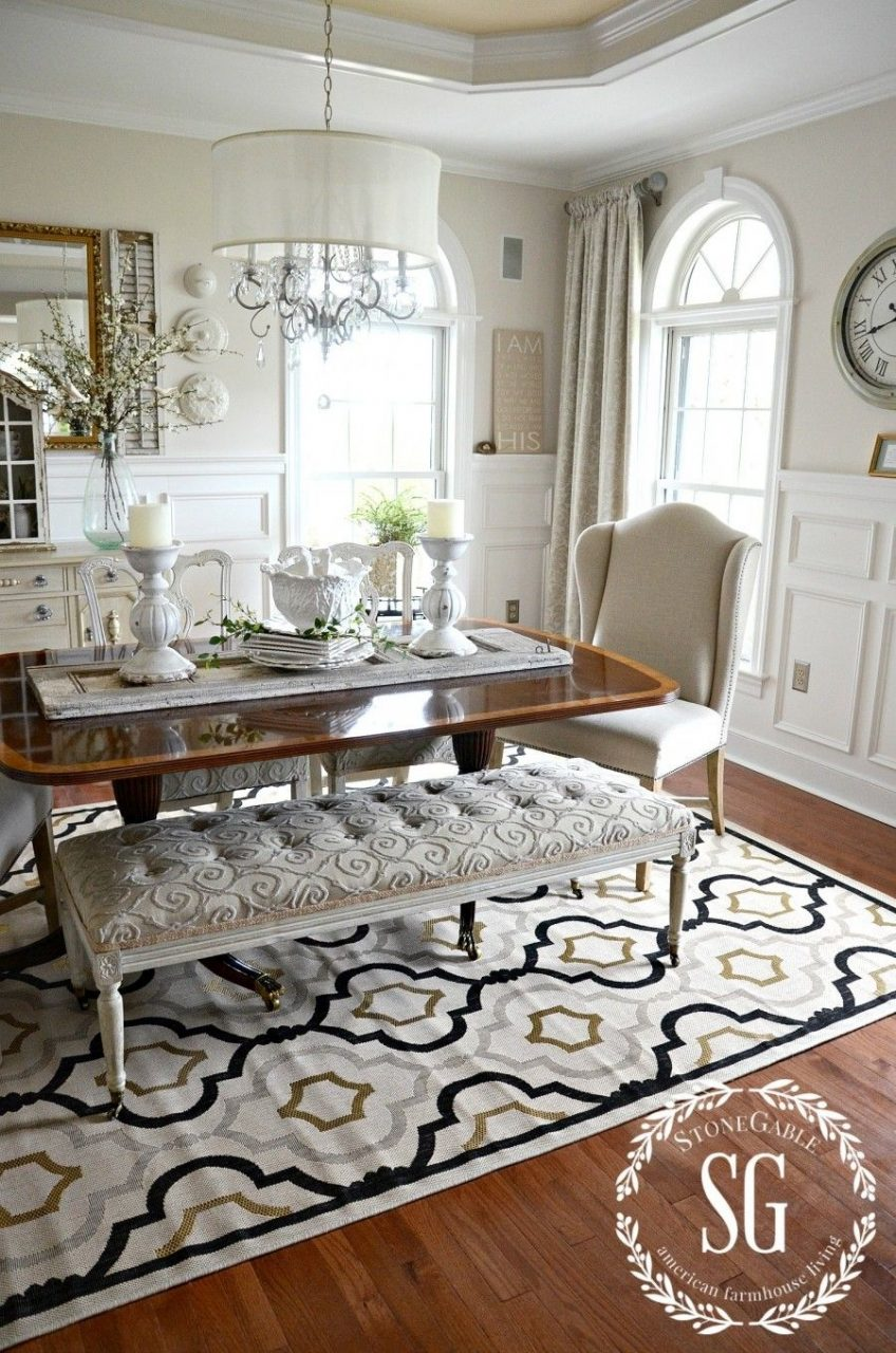 5 Rules For Choosing The Perfect Dining Room Rug Molding