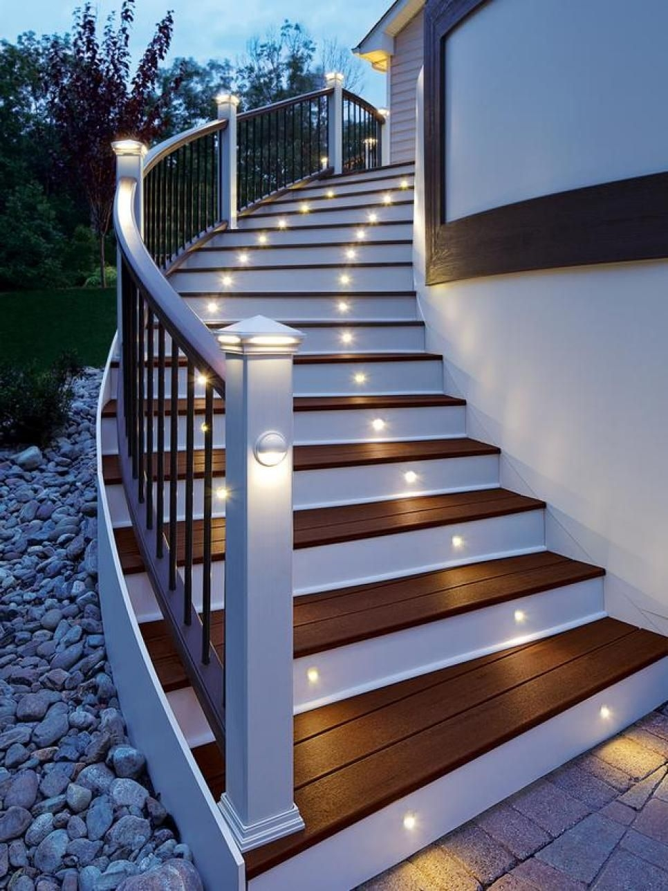 8 Outdoor Staircase Ideas Hgtv Pinterest Stairs Outdoor