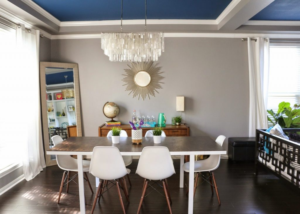 A 60 Mid Century Modern Ikea Dining Table Hack A Kailo Chic Life