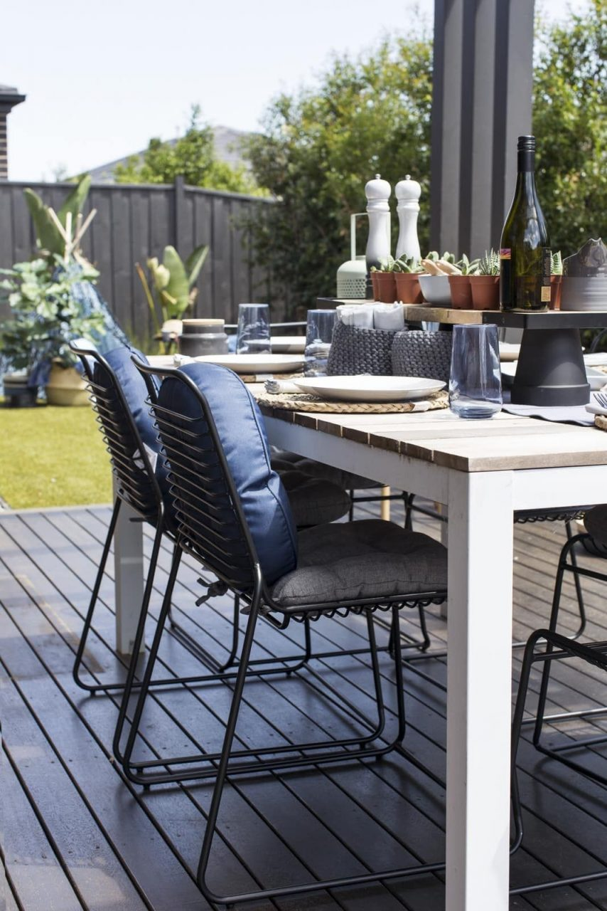 A Budget Backyard Revamp Using Kmart Outdoor Furniture Backyard