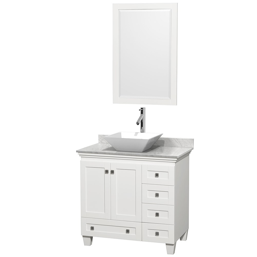 Acclaim 36 Single Bathroom Vanity For Vessel Sink Wyndham