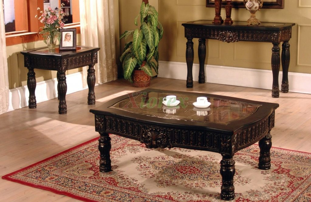 Ajax Coffee And End Table Living Room Furniture Set Xiorex