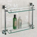 Bathroom Glass Shelves