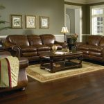 Living Room Leather Couch