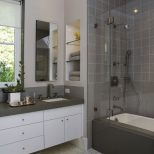 Amazing Of Fabulous Gray Small Bathroom Design Ideas L Cf 2387