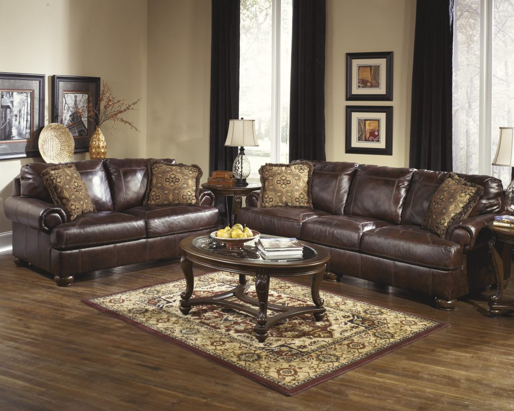 Ashley Furniture Leather Sofa Sets Leather Sofas As 42000