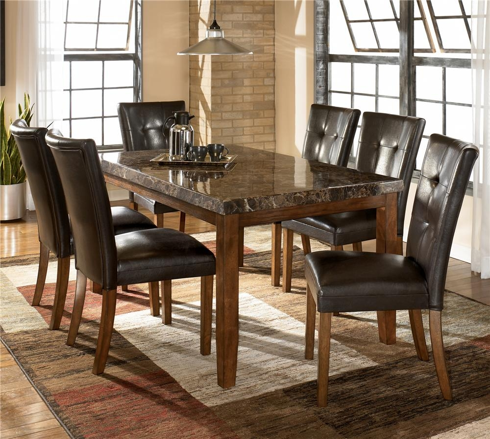 Ashley Signature Design Lacey 7 Piece Dining Table Chair Set
