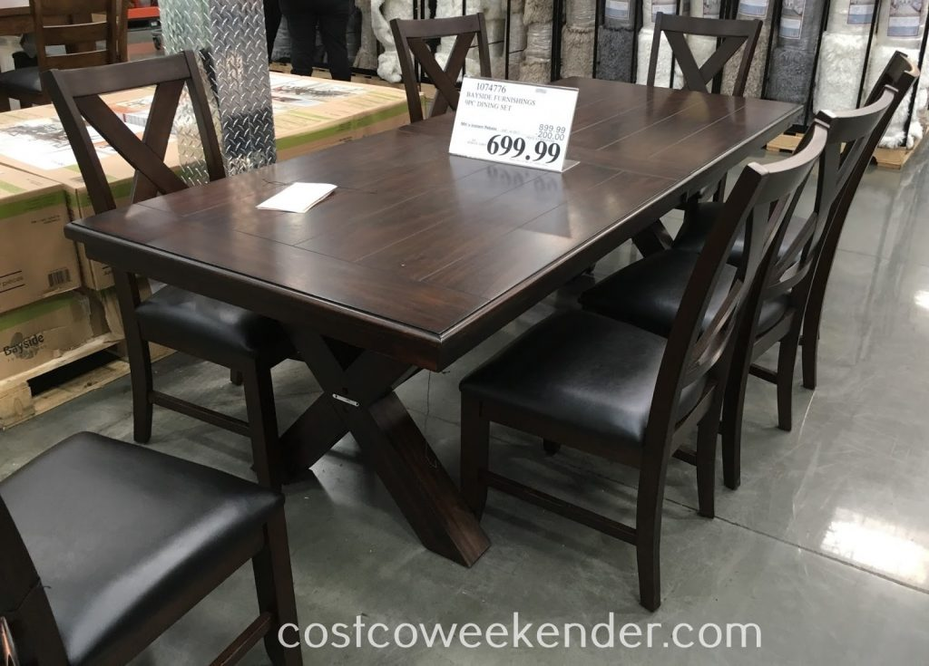 Awesome 9 Piece Dining Room Set Costco Home And Decoration