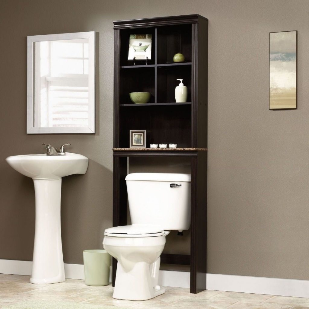 Bathroom Cabinet Over Toilet Shelf Space Saver Storage Adjustable