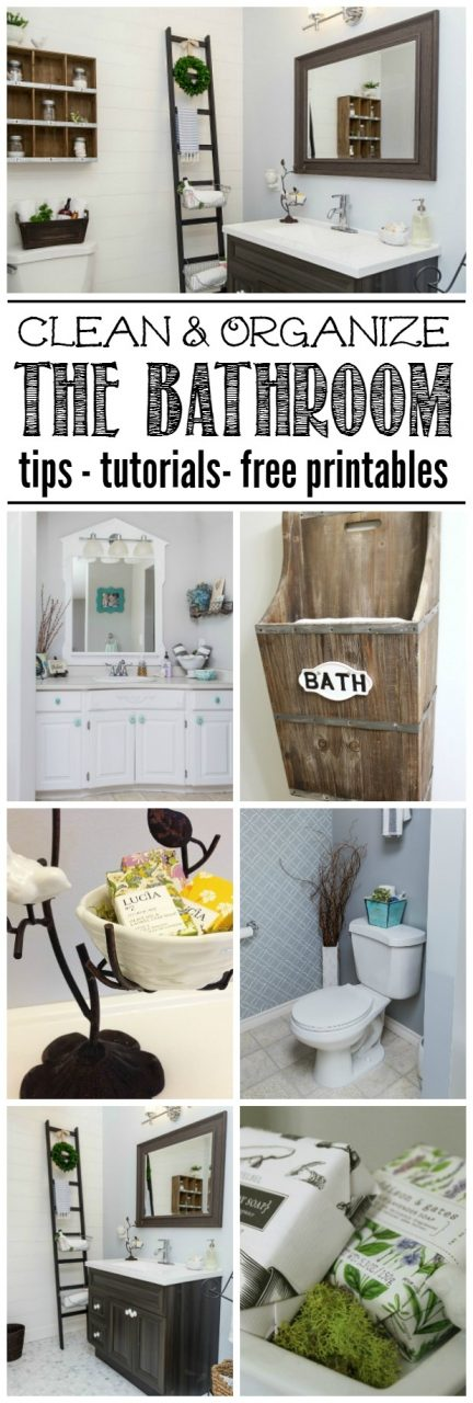 Bathroom Cleaning And Organization Ideas Clean And Scentsible