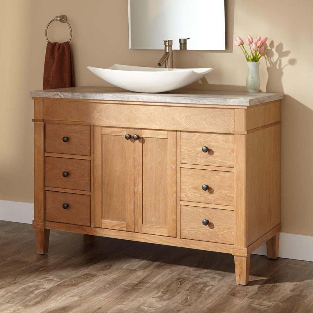 Bathroom Ideas The Gorgeous Bathroom Vanities With Vessel Sinks