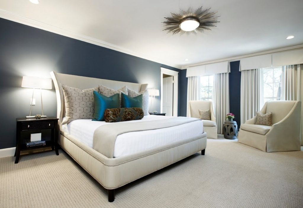 Bedroom Ceiling Light Fixture Smooth And Uniform Interior Ceiling