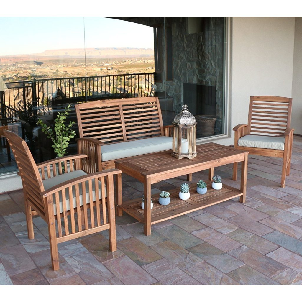 Best Acacia Wood Outdoor Furniture For 2018 Teak Patio Furniture World