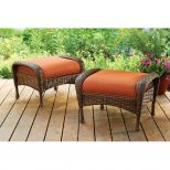 Better Homes And Gardens Azalea Ridge Outdoor Ottomans Set Of 2