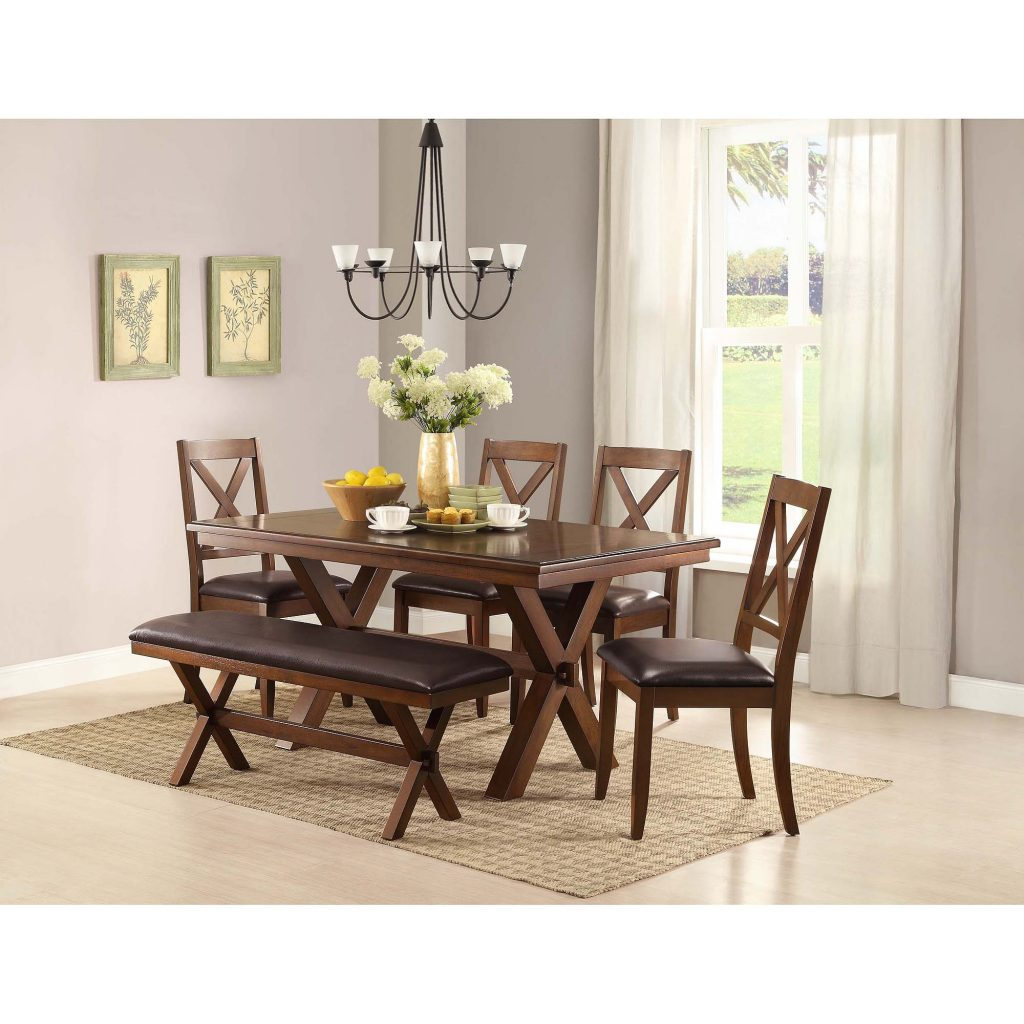 Better Homes Gardens Maddox Crossing Dining Chair Set Of 2 Brown