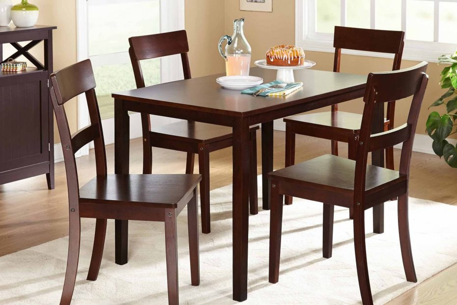 Beverly 5 Piece Dining Set Multiple Finishes Walmart