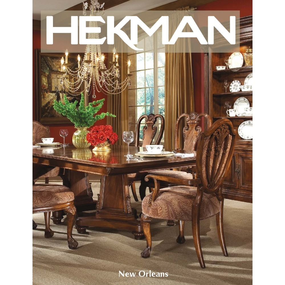 Buy New Orleans Dining Room Set Hekman From Wwwmmfurniture