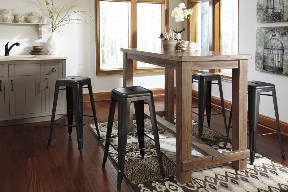 Buy Pinnadel Dining Room Bar Table Signature Design From Www