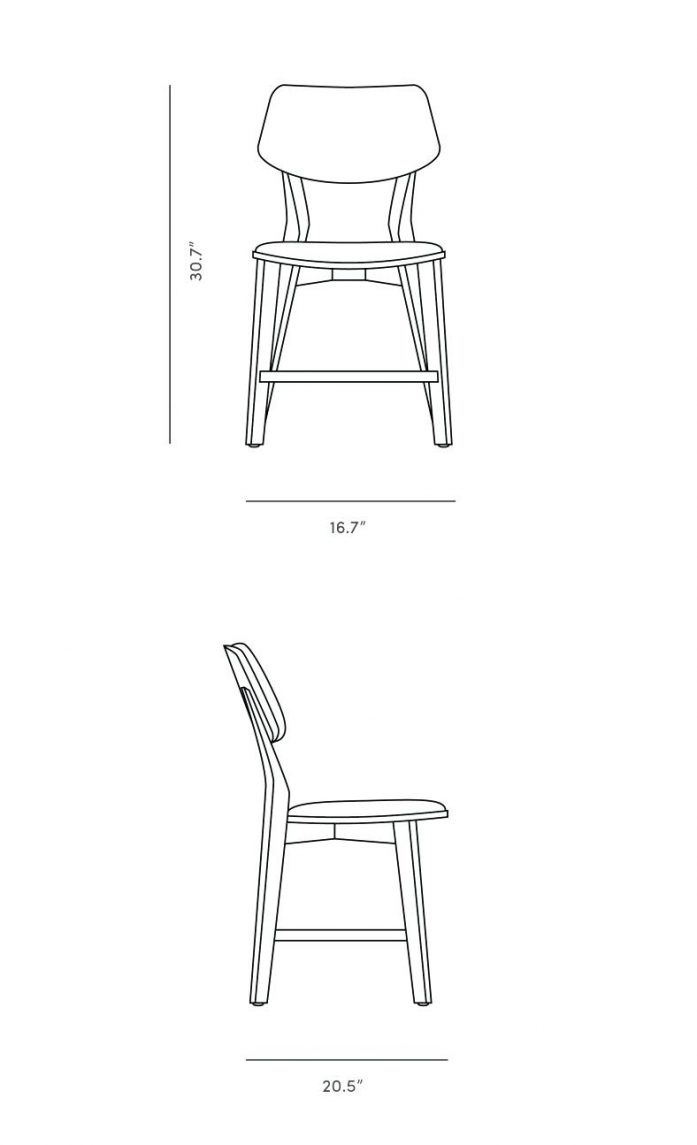 Caster Dining Chair Dimensions For Kasper Poundex Chairs Elegant