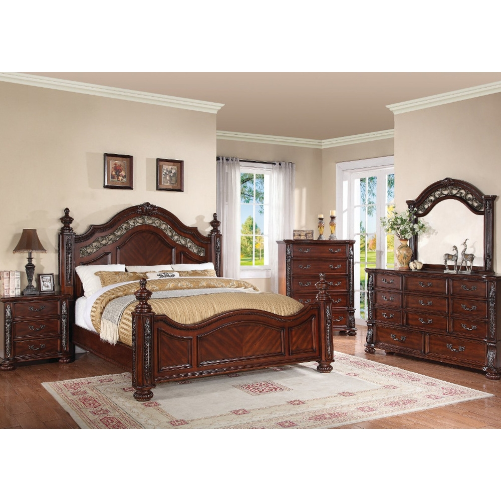 Charleston King Bedroom Set Bedroom Furniture Conns